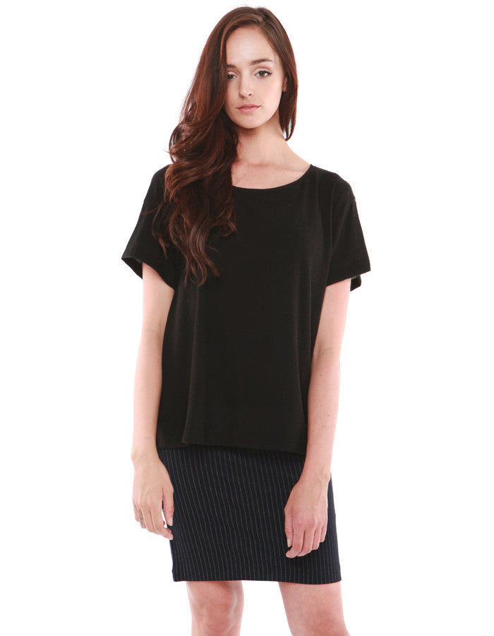 Jupiter Short Sleeve Real Black