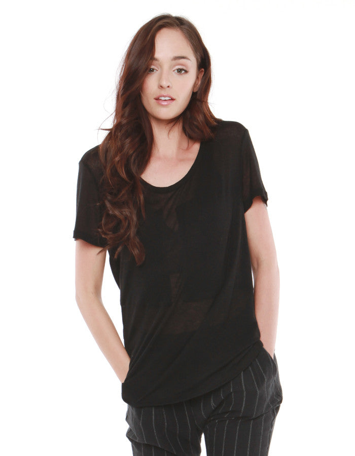 Kale Short Sleeve Black<br><font color=red><STRIKE>USD $75.00</strike></font>