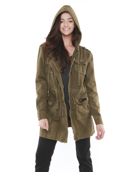 Planet Military Jacket Army Green