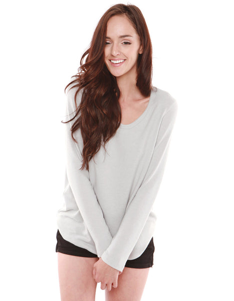 Saturn Long Sleeve Grey<br><font color=red><STRIKE>USD $73.00</strike></font>