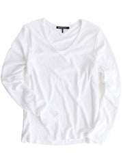 Saturn Long Sleeve White<br><font color=red><STRIKE>USD $73.00</strike></font>
