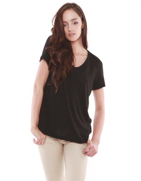 Saturn Short Sleeve Real Black<br><font color=red><STRIKE>USD $64.00</strike></font>