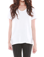 Saturn Short Sleeve Snow White<br><font color=red><STRIKE>USD $64.00</strike></font>