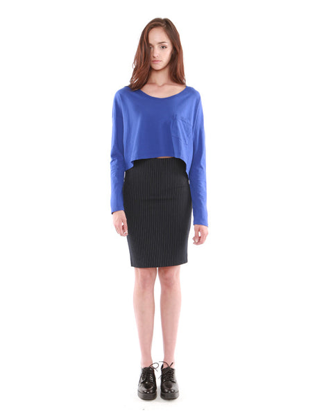 Spica Pocket Long Sleeve Cobalt<br><font color=red><STRIKE>USD $77.00</strike></font>