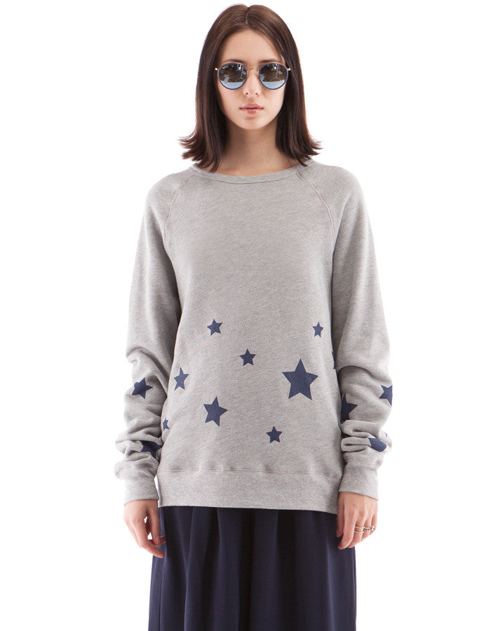 Starry Sweatshirts Heather Grey