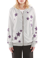 Stella Hoodie Zip Up Grey