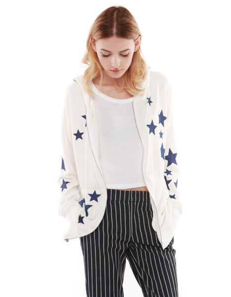 Stella Hoodie Zip Up Off White
