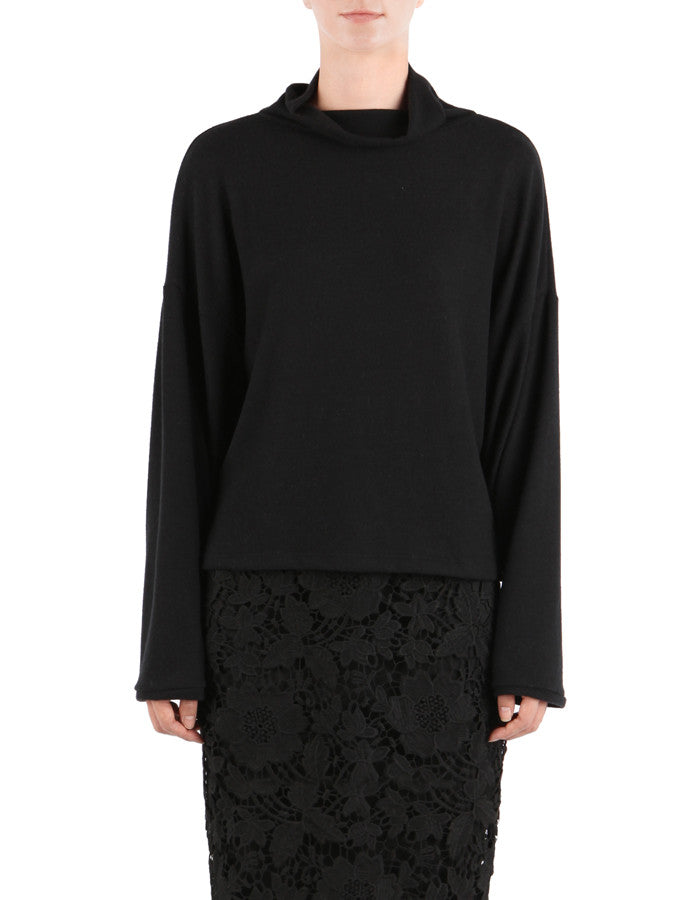 Sydney Turtle Neck Real Black