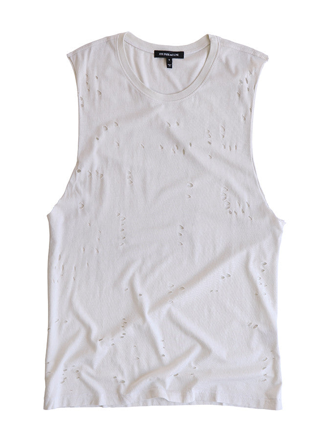 Tara Tank Ceramic White<br><font color=red><STRIKE>USD $86.00</strike></font>