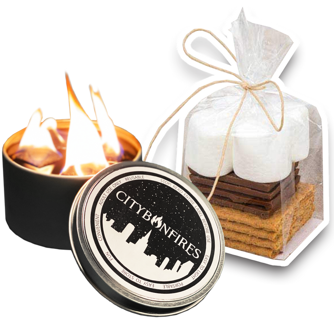 City Bonfire + S'mores Kit