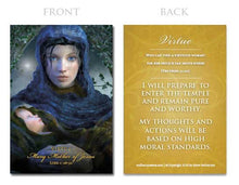 Load image into Gallery viewer, Young Women Values Card Set
