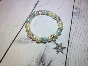 Snowflake Bracelet with Gift Box