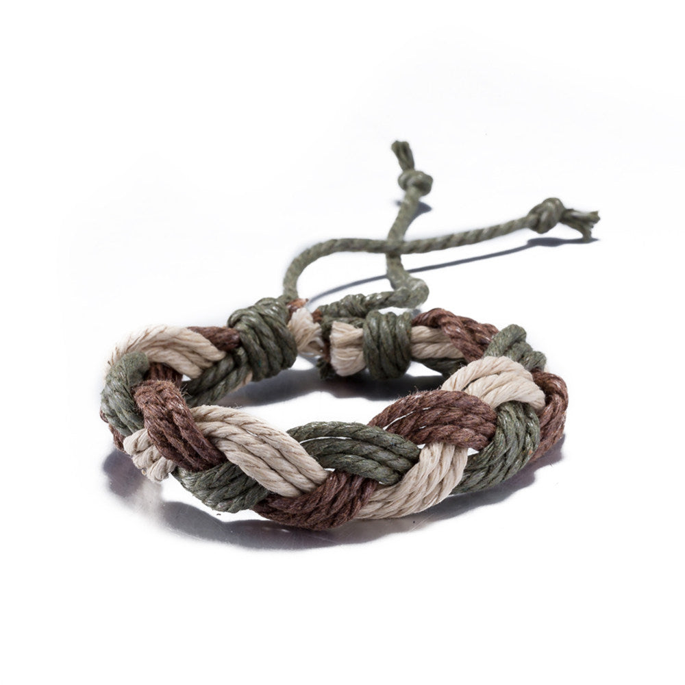 Woven Adjustable Wristband