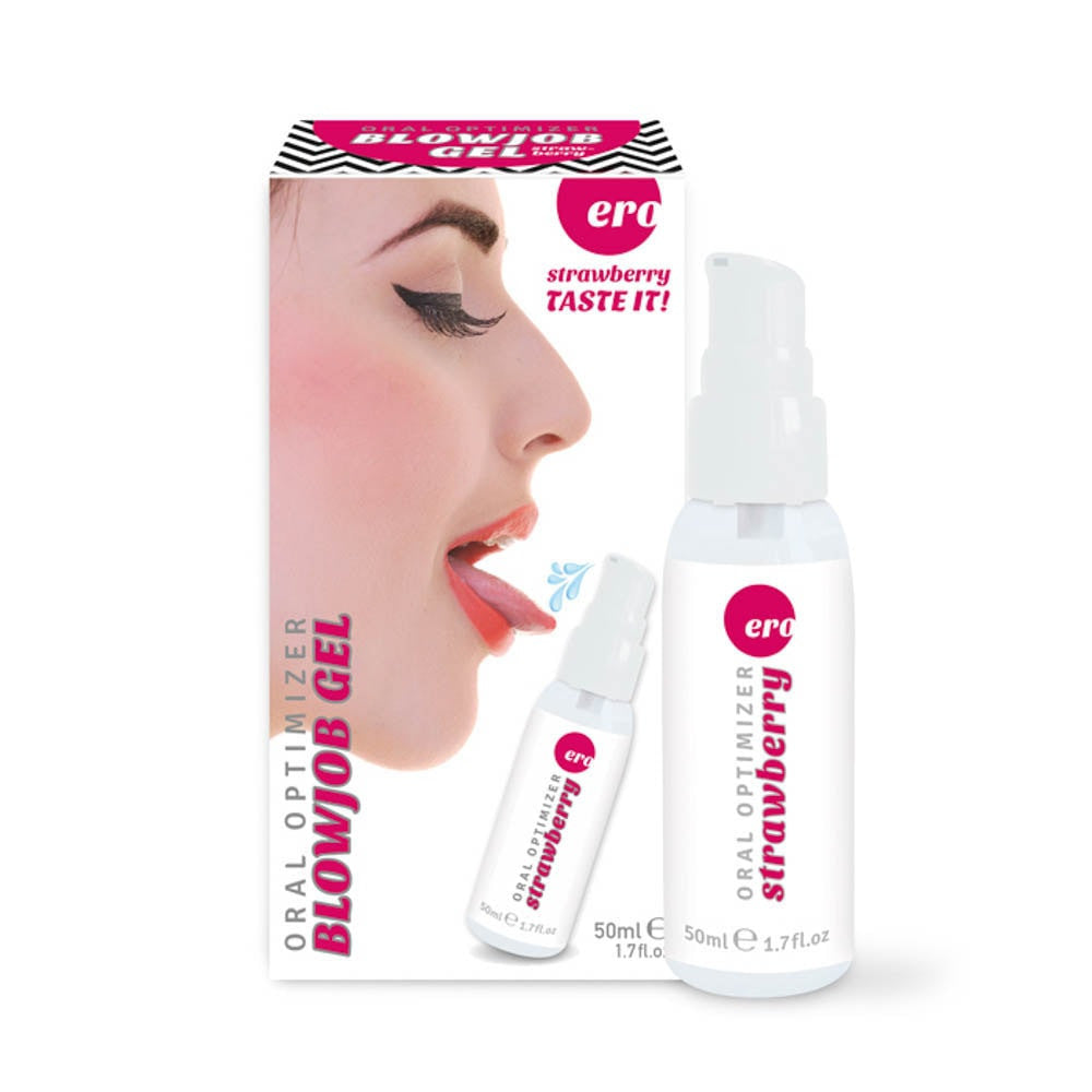 ORAL OPTIMIZER BLOWJOB GEL - STRAWBERRY 50 ML