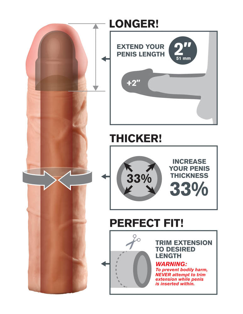 FANTASY X-TENSIONS PERFECT 2 INCH EXTENSION