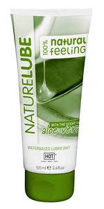 HOT NATURE LUBE WATERBASED ALOE VERA  - 100ML