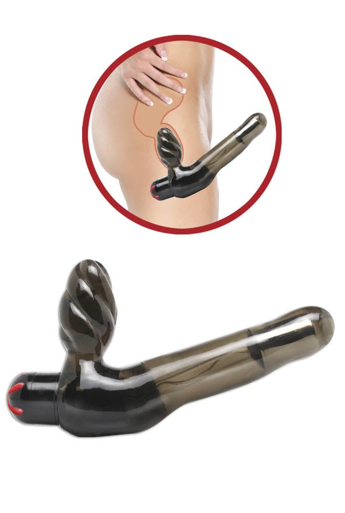 FETISH FANTASY SERIES VIBRATING STRAPLESS STRAP-ON