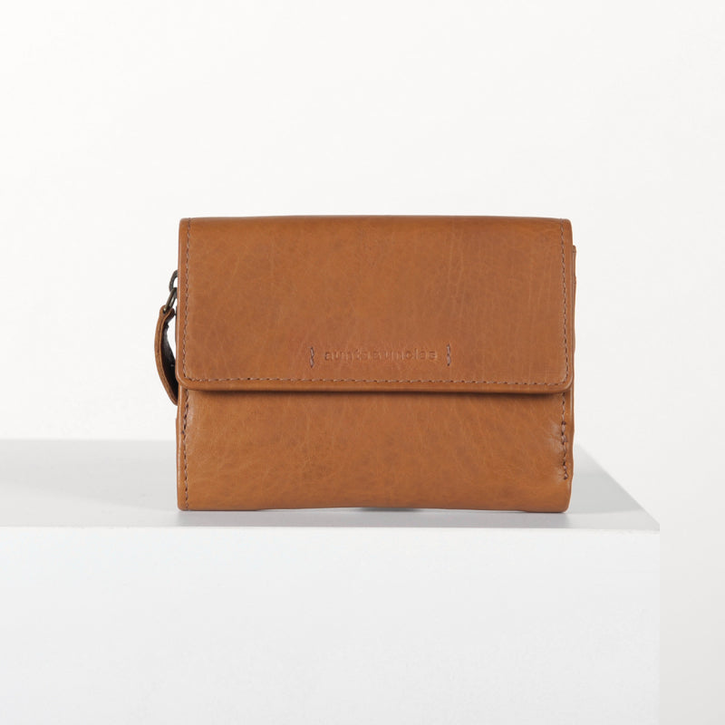 Apricot Wallet in Cognac