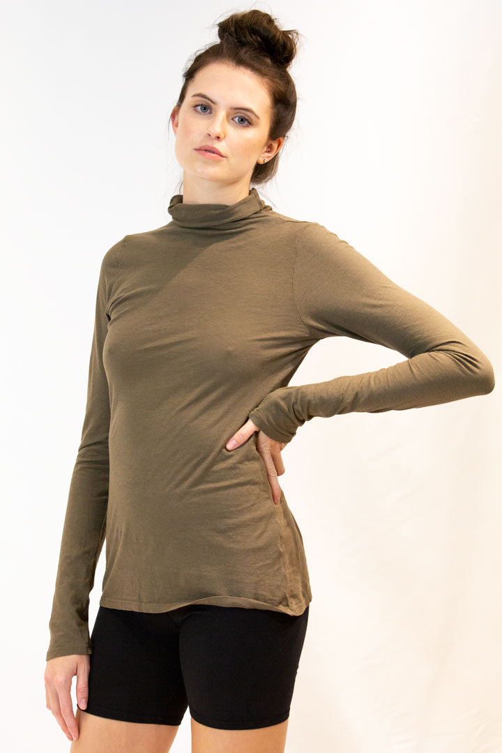 Grace Roll Neck- OC/Hemp