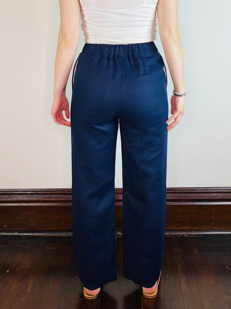 The High Rise Relaxed Trouser