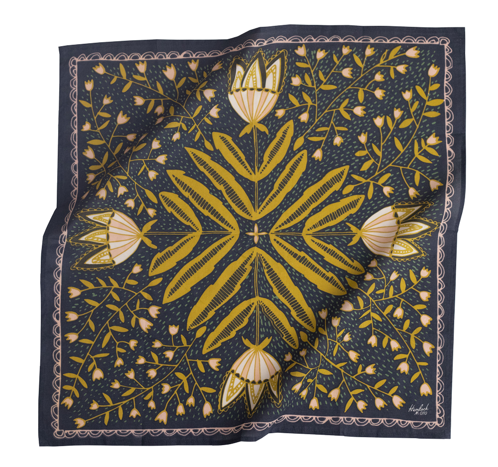 No. 10 Tulips Bandana