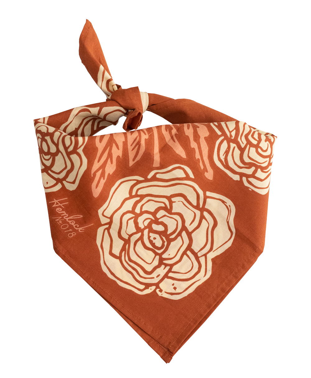 No. 18 Rose Bandana