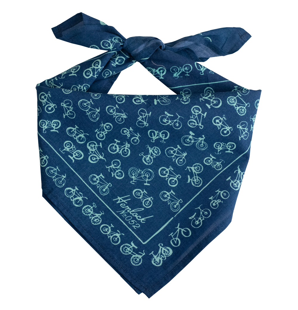 No. 52 Bikes Blue Bandana
