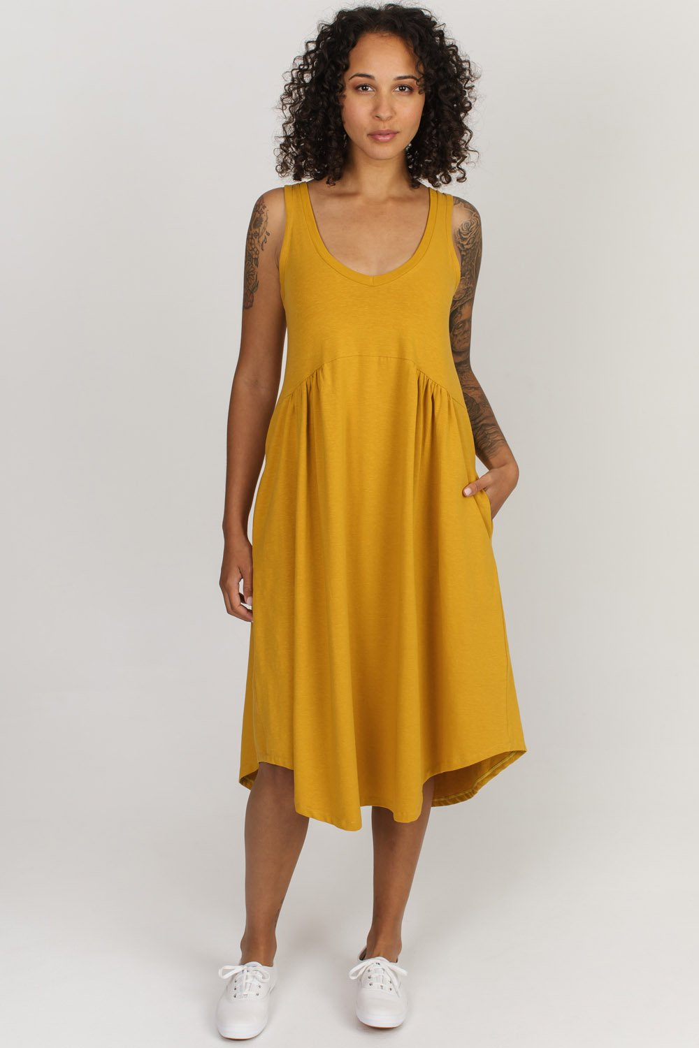 Lillooet Hemp Blend Dress