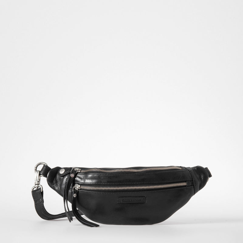 Tamarillo Belt Bag in Jet Black