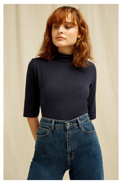 Cecily Turtleneck Top