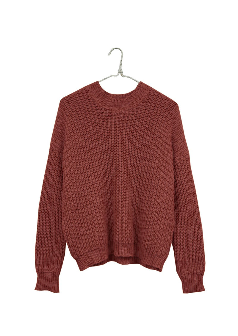 Chunky Pull-On Sweater