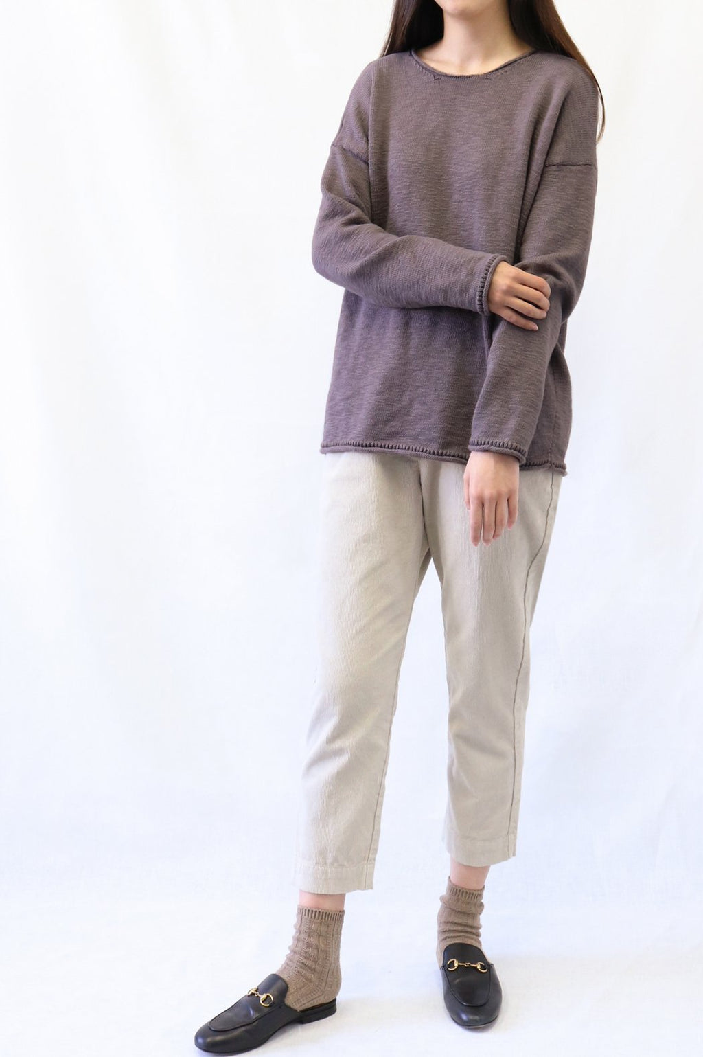 Corduroy Tapered Pull-On Pant