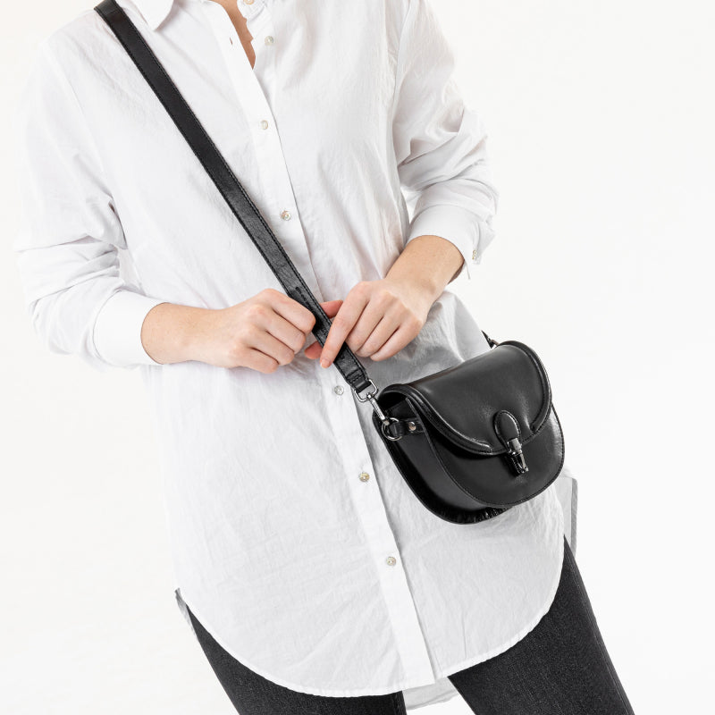 Sylvie Belt Bag in Noir
