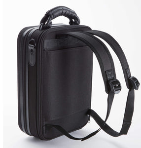 Serio Single Bb Case All Black- backpack straps