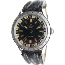 Load image into Gallery viewer, Vintage Breitling Unitime 2610 in Steel