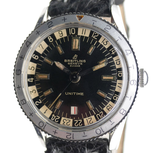 Breitling Unitime 2610 in Steel
