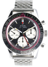 Load image into Gallery viewer, Enicar Jet Graph LNIB 1969 GMT Chronograph MK III