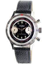 Load image into Gallery viewer, Gallet Flying Officer Chronograph Vintage