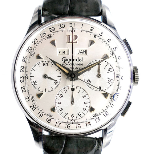 Gigandet Wakmann Datic Triple Date Chronograph - Boxed