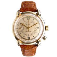 Load image into Gallery viewer, Vintage Doctor's Watch Gruen Chrono-Timer 14K Gold Watch - Pulsations
