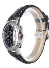 Load image into Gallery viewer, Circa 1972 LeCoultre E335 Master Mariner Black Dial Valjoux 72 Chronograph Watch