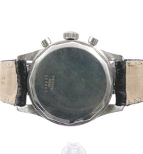 Load image into Gallery viewer, 1972 Jaeger-LeCoultre Chronograph E335 Master Mariner, Back View