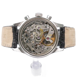 Valjoux 72 Movement Inside Jaeger-LeCoultre E335 Master Mariner Chronograph Watch
