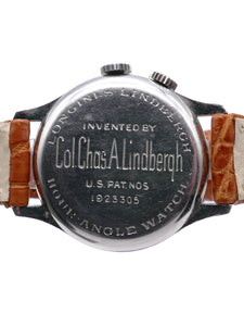 Longines Lindbergh Hour Angle Watch Circa 1938