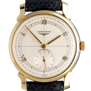 Longines LK29 Men's 14K Solid Gold Automatic Dress Watch