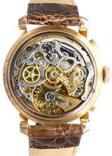 Load image into Gallery viewer, Minerva 18K Rose Gold Chronograph with Box