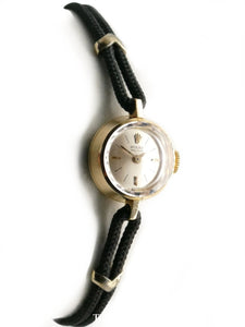 Rolex 18K Yellow Gold Ladies Cocktail Dress Watch Circa 1963 Vintage