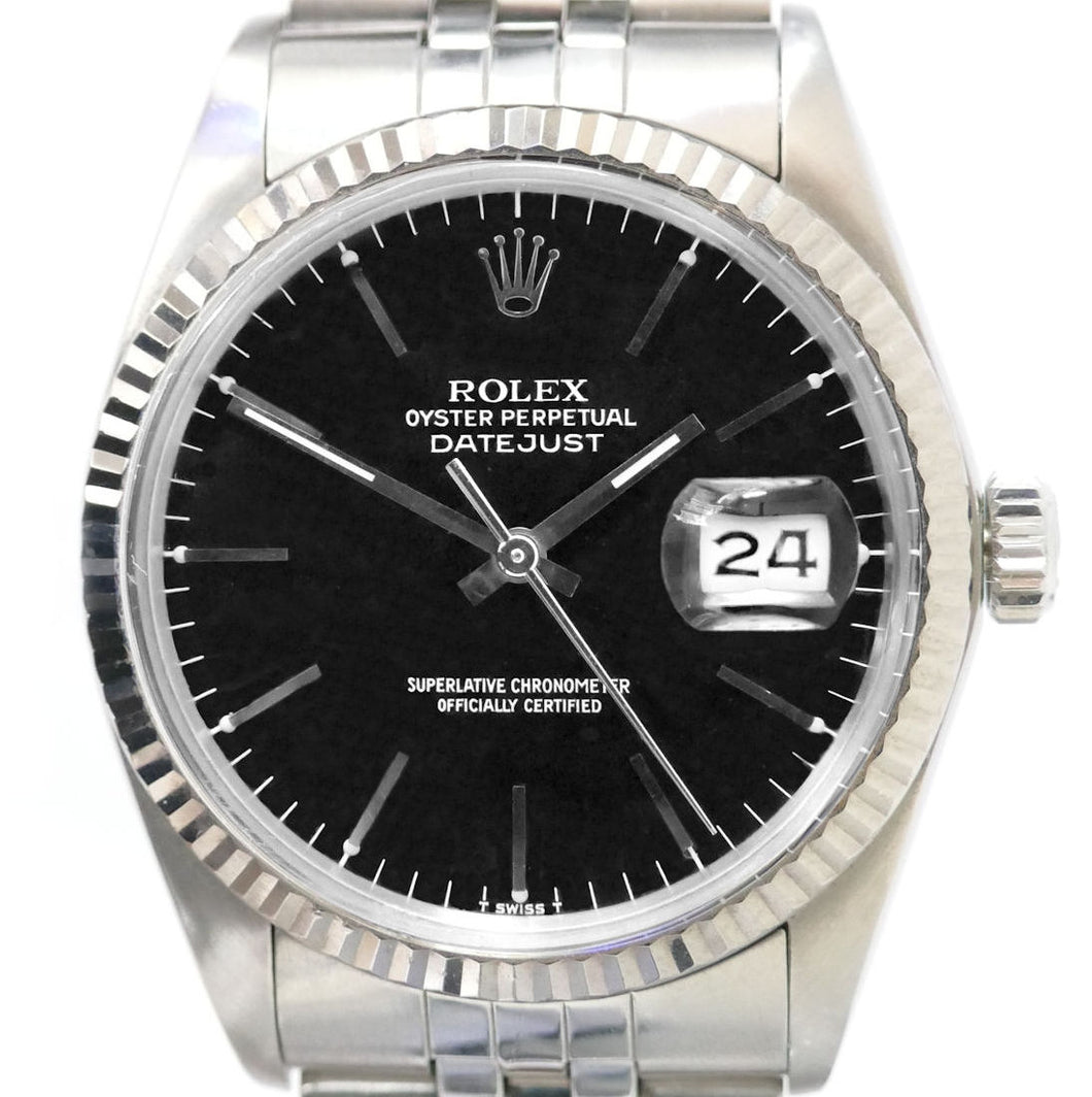 Rolex Datejust 16014 Mens Vintage Watch