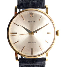 Load image into Gallery viewer, Rolex Reference 9659 Solid 18K Gold Men's Dress Watch