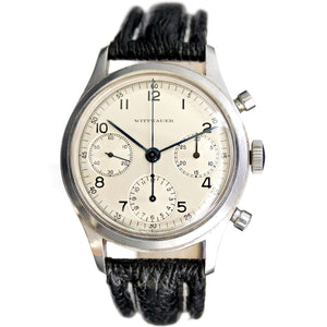 Wittnauer Large Steel Chronograph Valjoux 71